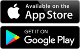 App Store Google Play logo